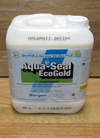 Однокомпонентный акрилово-полиуретановый лак на водной основе Berger Aqua-Seal EcoGold