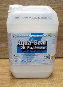 """полиуретановый лак на водной основе """"Berger Aqua-Seal 2KPU"""""""